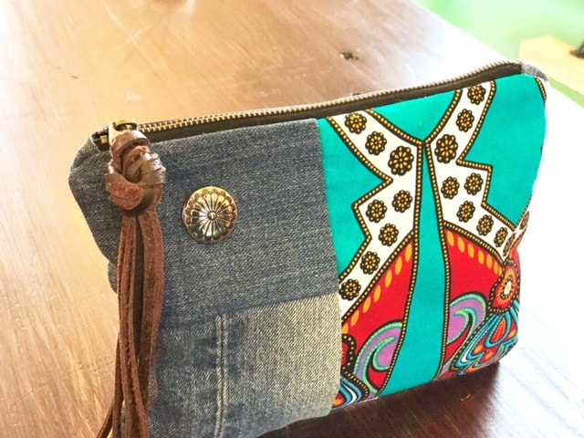 Concho and Leather Straps