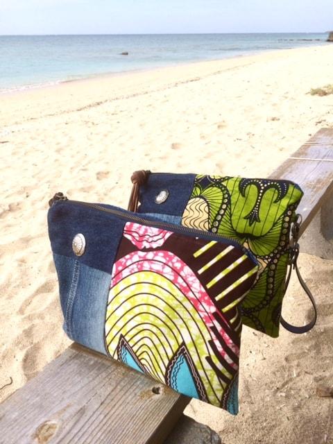 Praia Clutch Bags