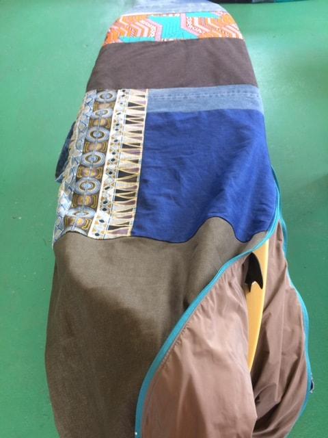 Turquoise zipper